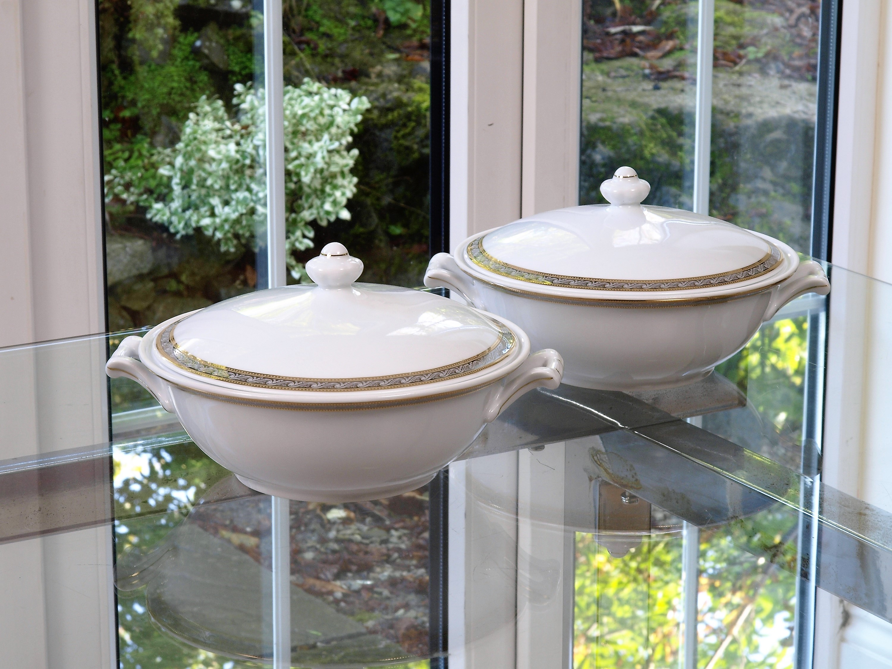 THE MYSOLICE 96 PIECE DINNER SERVICE