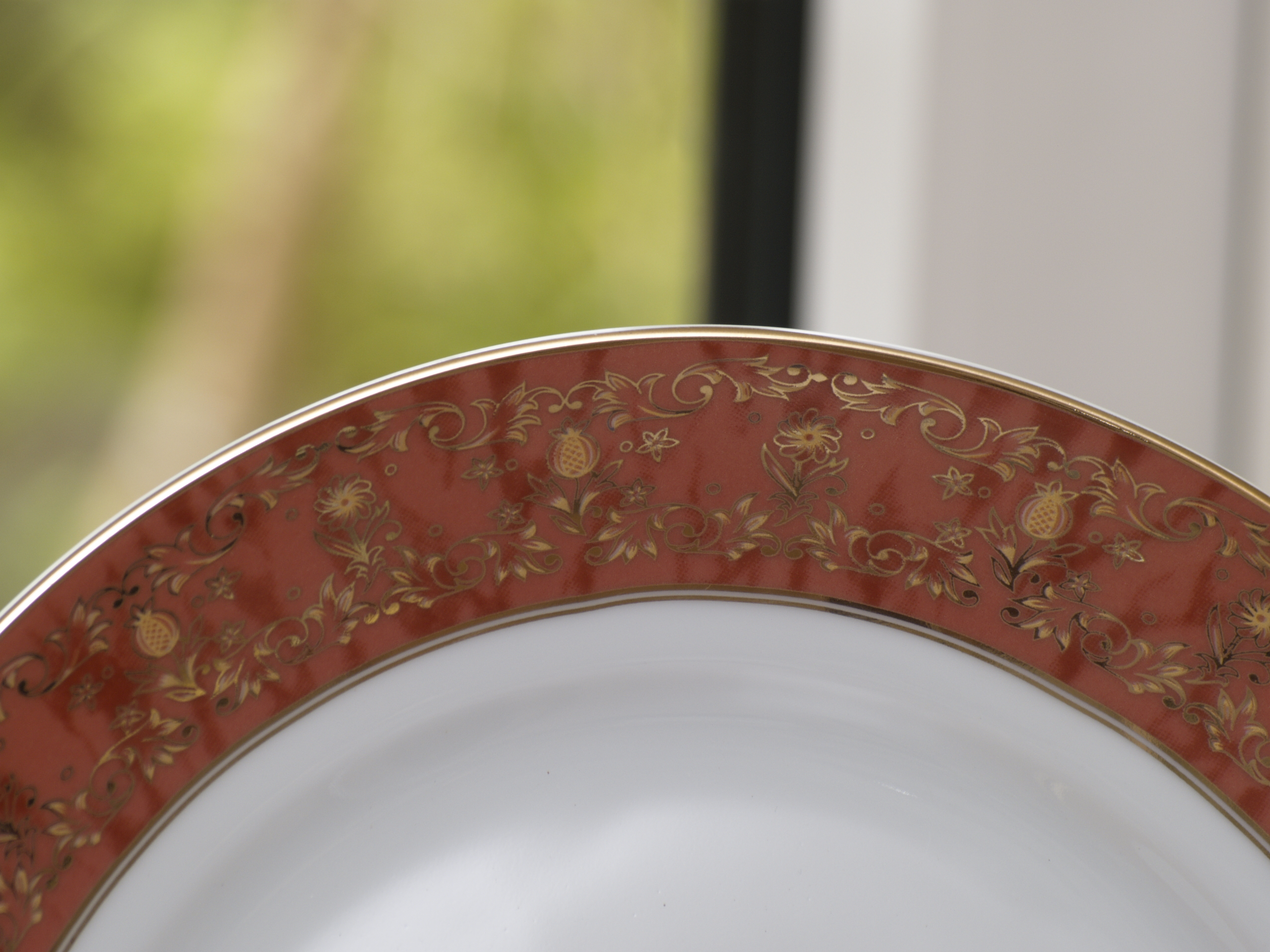 PALOMA RUST 56 PIECE DINNER SERVICE
